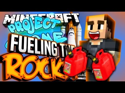 Minecraft - FUELING THE ROCKET - Project Ozone #158
