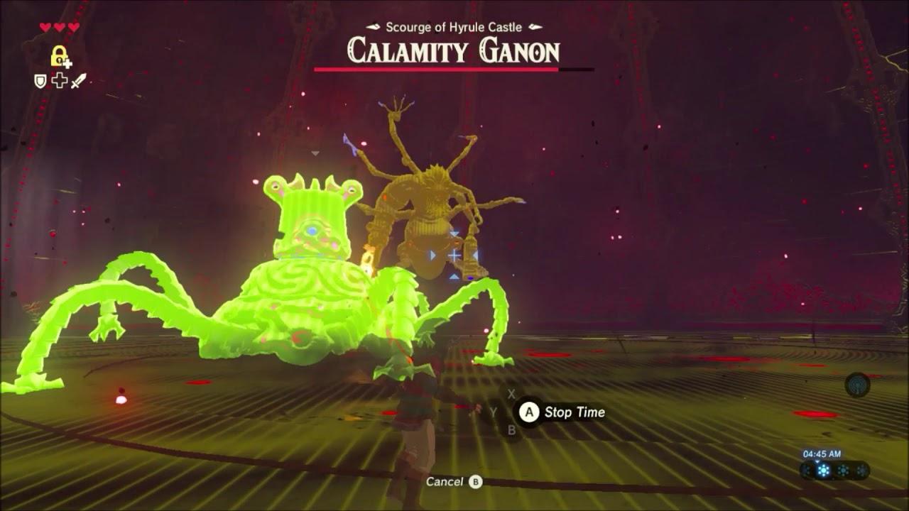 Breath Of The Wild Guardian Vs Calamity Ganon