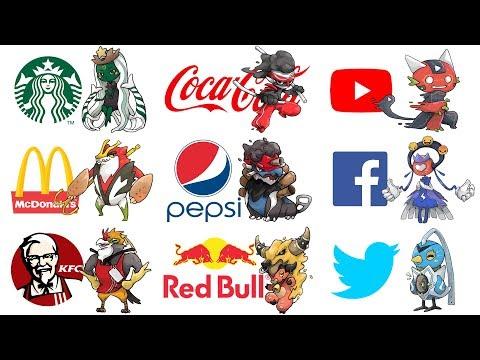 Famous Logos As Pokemon Evolutions