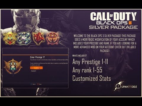Black Ops 3 Mods - Silver Package & Pre-Modded Accounts (PS3/PS4, XBOX  360/XBOX ONE, PC)