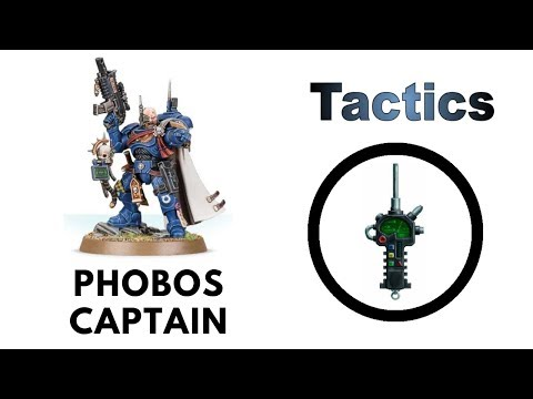 Phobos Captain + Primaris Vanguard Warlord Traits: Rules, Review + Space Marine Tactics