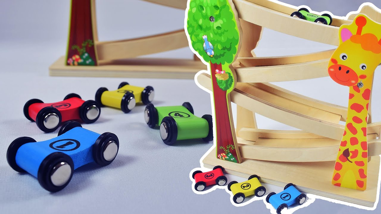 Baby toy learning video learn colors and numbers with wooden toys