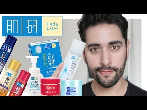 HADA LABO Brand Review - Lotions, Oil Cleanser, Gel / Creams and Sunscreen! ✖  James Welsh