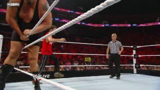 Big Show & Mark Feuerstein vs. Ted DiBiase & Virgil: Raw, June 14, 2010
