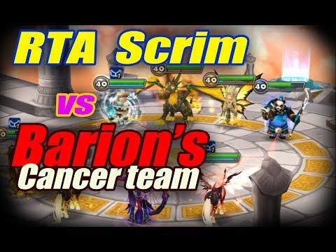 Summoners War - RTA scrim vs Barion