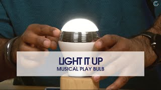 Light It Up With The Play Bulb
