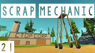 Scrap Mechanic Gameplay - #21 - Noodle Car! - Let's Play