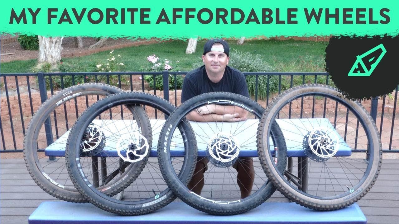 Battle of the Affordable 29er Wheels -  Hunt vs STANS vs Nukeproof vs Spank