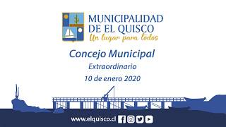 Concejo Municipal extraordinario 10 de enero 2019 [9am]