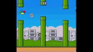 Frappy SNES (flappy bird clone) - Frappy SNES (SNES Flappy Bird Clone) High Score Run- Vizzed RGR Tournament June 2014 - User video