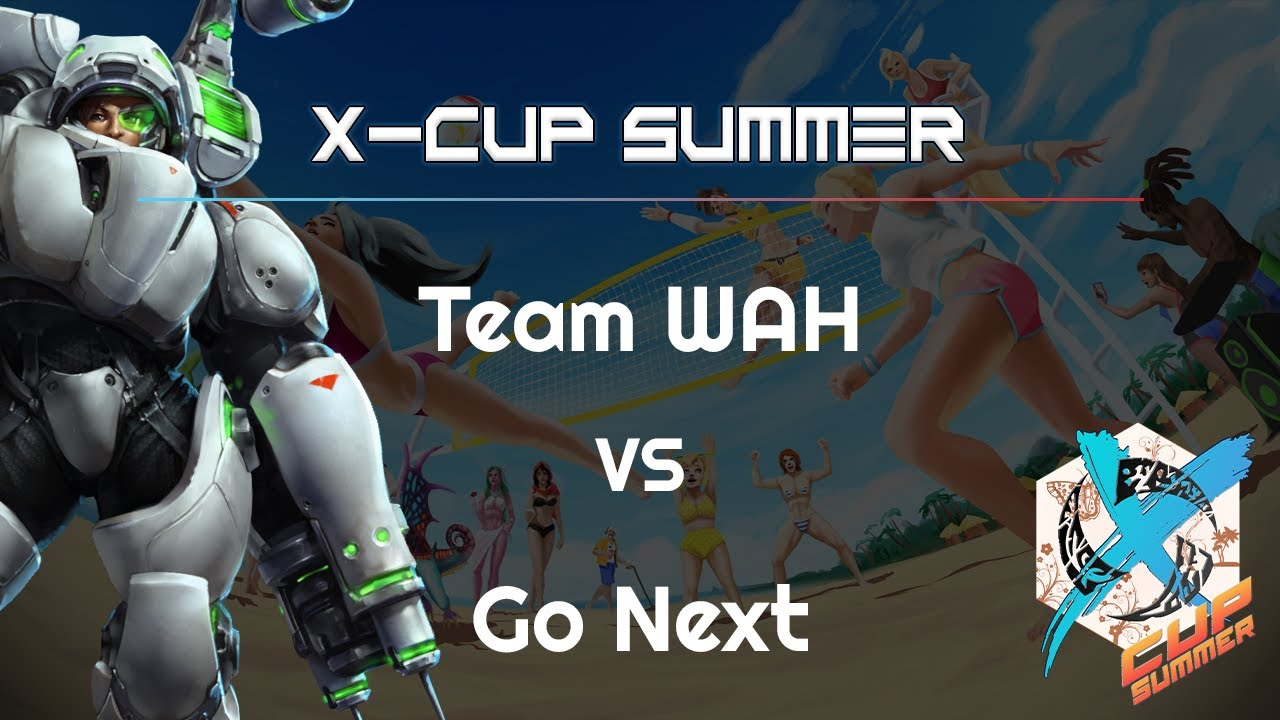 Go Next vs. Team WAH - X Cup Summer - Heroes of the Storm 2021