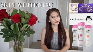 VERY AFFORDABLE : SKIN WHITENING SOAPS and LOTIONS with SPF