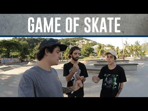 Game of SKATE  Ivan, Gian e Breno Parte 1