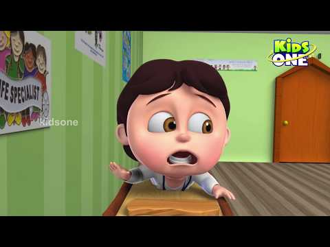 Animals Gets Sick Need Shot By Doctor Funny Episode For Kids - KidsOne
