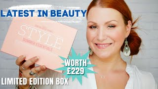 *NEW* LATEST IN BEAUTY SUNDAY TIMES STYLE SUMMER ESSENTIALS BEAUTY BOX UNBOXING
