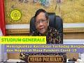 - Studium Generale Prof. Dr.  Moh. Mahfud MD. Orientasi Studi Mahasiswa Baru UWM T.A. 2020/2021
