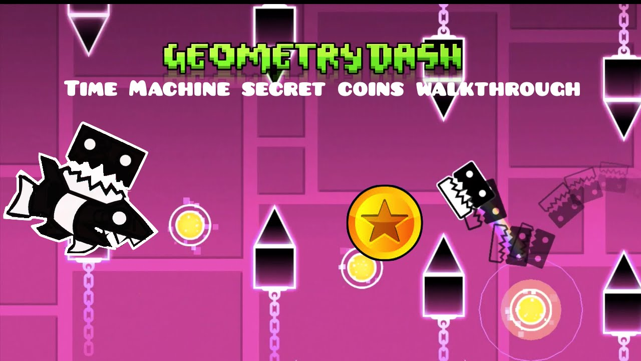 geometry dash time machine all coins