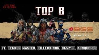 🏆MK11 Pro Kompetition: Brasil Game Show 2019 Top 8 Ft. Tekken Master, KillerXinok, DizzyTT [ES]