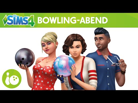 Die Sims 4 Bowling-Abend-Accessoires: Offizieller Trailer