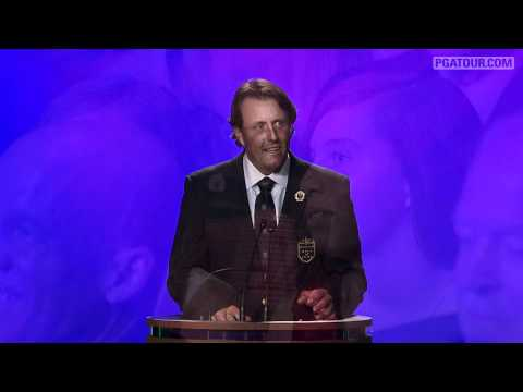 Phil Mickelson - 2012 World Golf Hall of Fame
