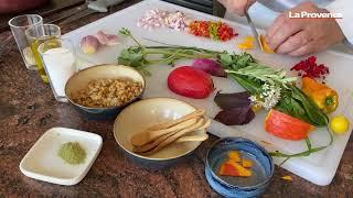 La bonne recette : Jack Be Little farci aux légumes et herbes du jardin