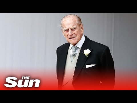 Live: Prince Philip's funeral -  Brave Queen will sit ALONE & masked during service