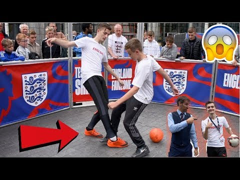 I NUTMEGGED THE ENGLAND MANAGER !? (GARETH SOUTHGATE) *FOOTBALL CHALLENGE*