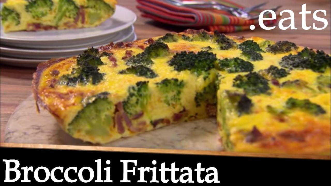 Broccoli frittata recipe chef micheal smith youtube broccoli frittata recipe chef micheal smith forumfinder Gallery