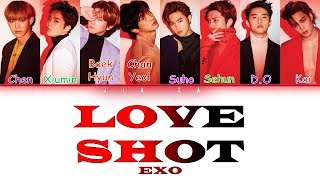 "EXO ""Love Shot"" (Sub indo) Lirik {Color Coded-Rom-Ind}"