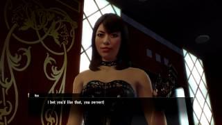 Yakuza 0 - How to Train Your Dominatrix Gameplay (Direct-Feed PS4)