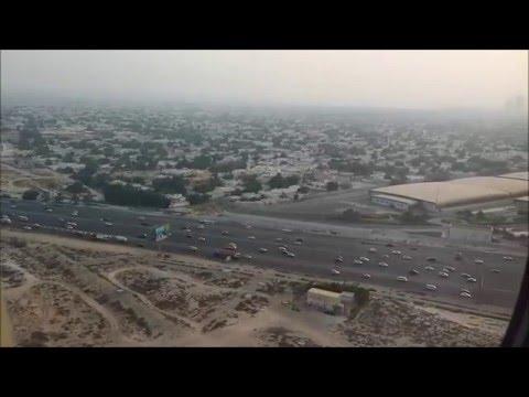 Emirates 242 - Landing in Dubai - EK 242