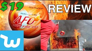 Testing Fire Extinguisher Balls!:AFO From Wish