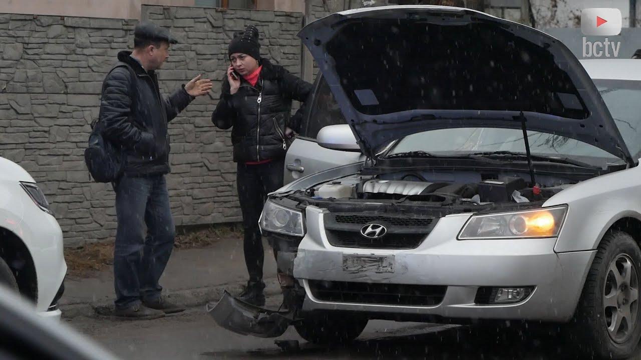 ДТП на перехресті вулиць Шевченко та Павліченко (21.12.2020)