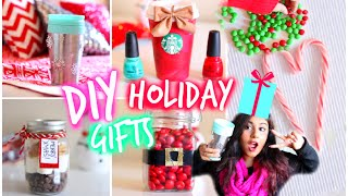 Easy & Affordable DIY Holiday Gift Ideas! For Friends Family Teachers Boyfriend!