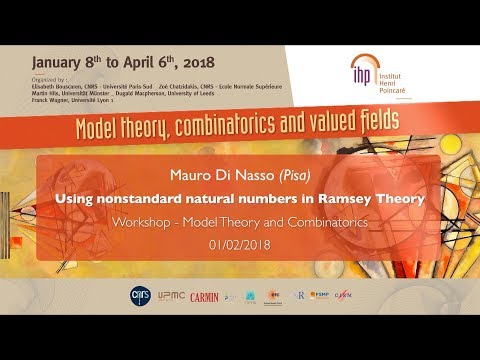 Using nonstandard natural numbers in Ramsey Theory - M. Di Nasso - Workshop 1 - CEB T1 2018