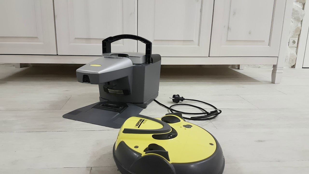 Бесполезная покупка Робот пылесос Karcher RC3000 2 года неиспользования