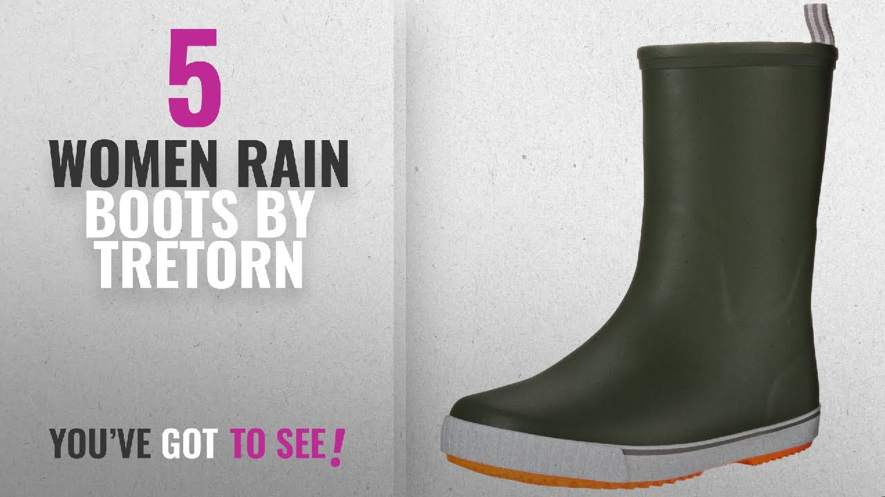 39f2429f0ce Tretorn Women Rain Boots [2018]: Tretorn Women's Wings Vinter Rain Shoe,  Green, 38 EU/7 M US