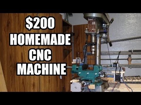 Build a CNC Machine in 4 hours for $200