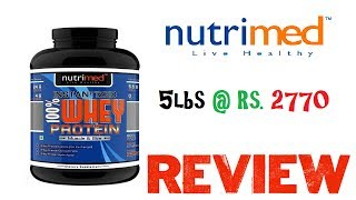 Nutrimed 100% Instantized Whey Review   Sale Information