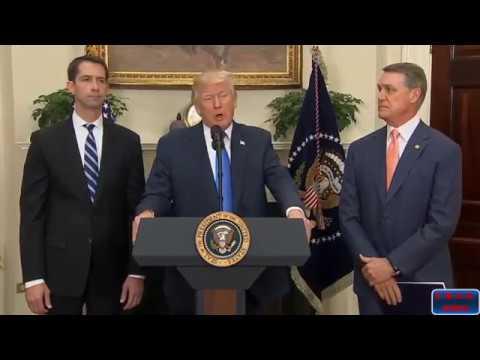 Trump Reforms Legal Immigration Bill Raise Act Speech, 8.02.2017 (FULL)