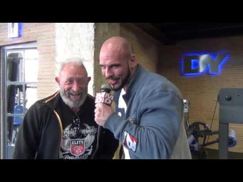 MDL Entrevista a Manuel Valbuena Atleta IFBB, en Dorian Yates GYM