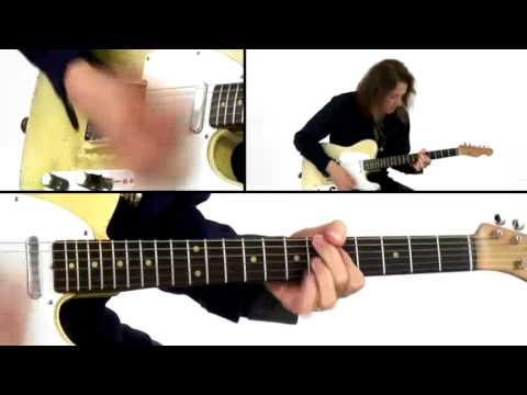 Robben Ford Guitar Lesson 6 Blues Motif Revolution