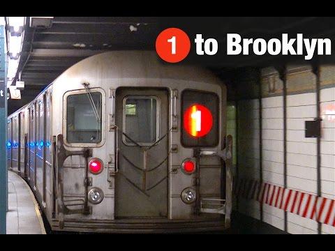 ⁴ᴷ 1 Train via the Brooklyn IRT Action