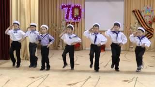 """Детский сад №1""""Соловушка"""", г.Павловский Посад. Танец """"Яблочко"""""""