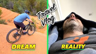 Here's what my mountain bike trips are really like