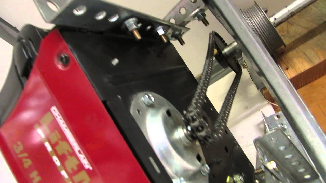 LiftMaster 3575267D Side Mount Garage Door Opener  YouTube