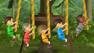 Wii Party - Rope Sling - All Sport Minigames| Cartoons Mee