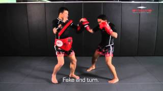 POWERFUL Muay Thai KO combination! | Evolve University