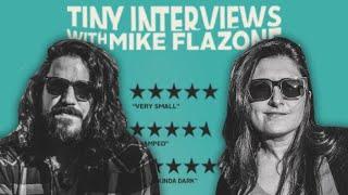 Zoja splits her pants | TINY INTERVIEWS | MIKE FALZONE