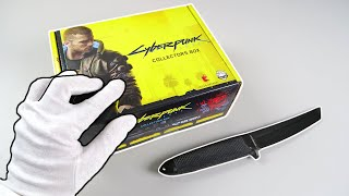 Unboxing CYBERPUNK 2077 Collector's Box + Dual Shock 4 Controller + Diskette